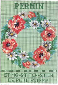 Permin Spring Cross Stitch Designs